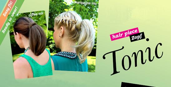 Haarteile für den Sommer