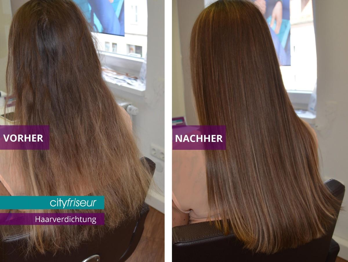 Extensions Haarverdichtung hairtalk in Weiden