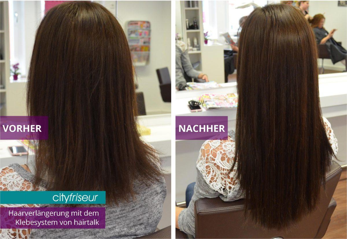 Extensions in Weiden Haarverlängerung hairtalk