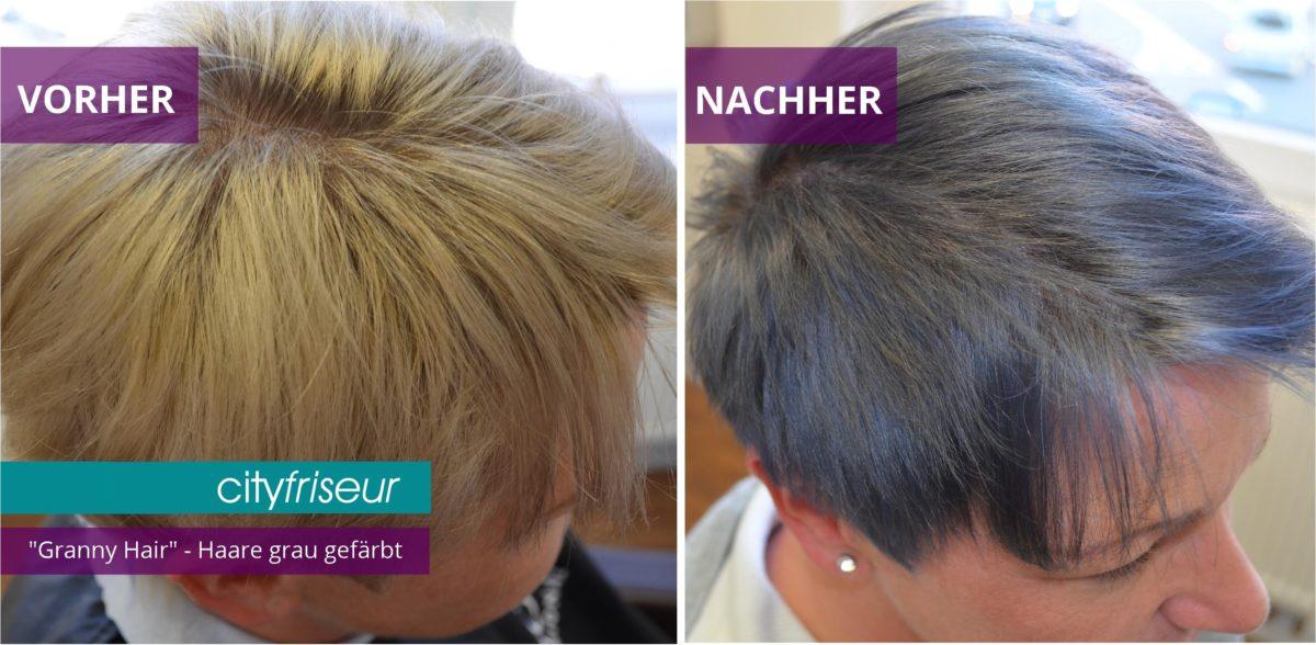 granny hair graue haarfarbe aktuelles von cityfriseur in weiden. Black Bedroom Furniture Sets. Home Design Ideas