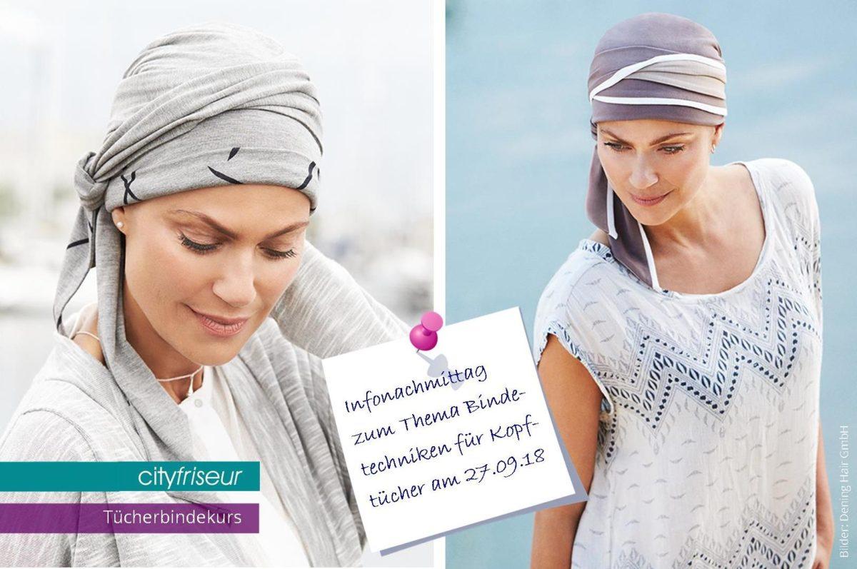 Workshop Bindetechniken für Kopftücher