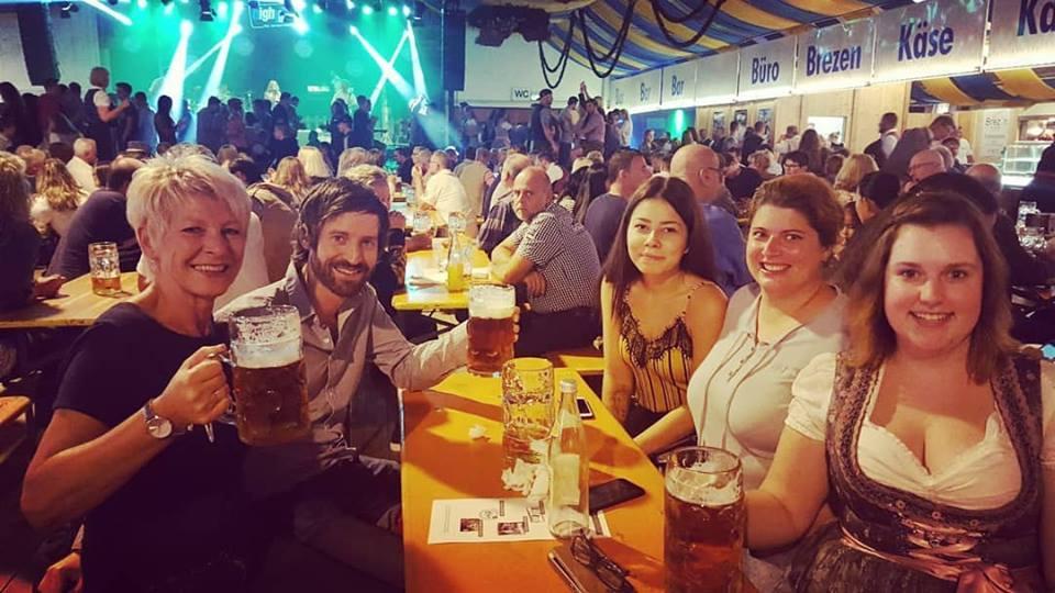 Besuch Volksfest Weiden