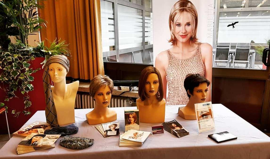 Patiententag der Onkologie in Weiden – Infostand zum Thema Perücken und Haarersatz