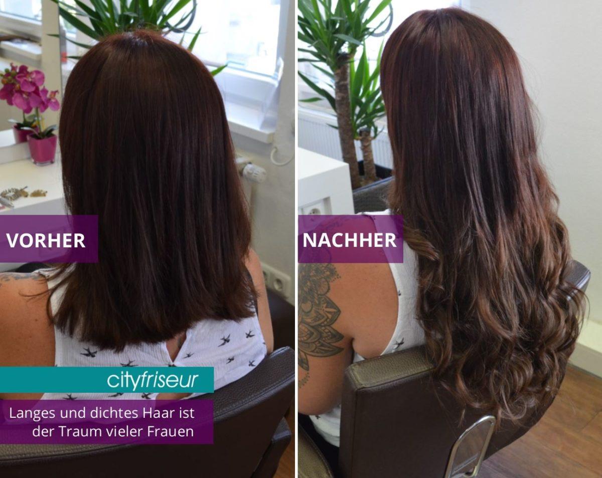 Professionelle Haarverlängerung vom Friseur in Weiden