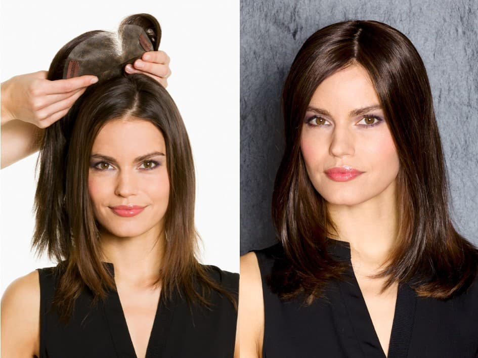 Haarteil bei Haarausfall